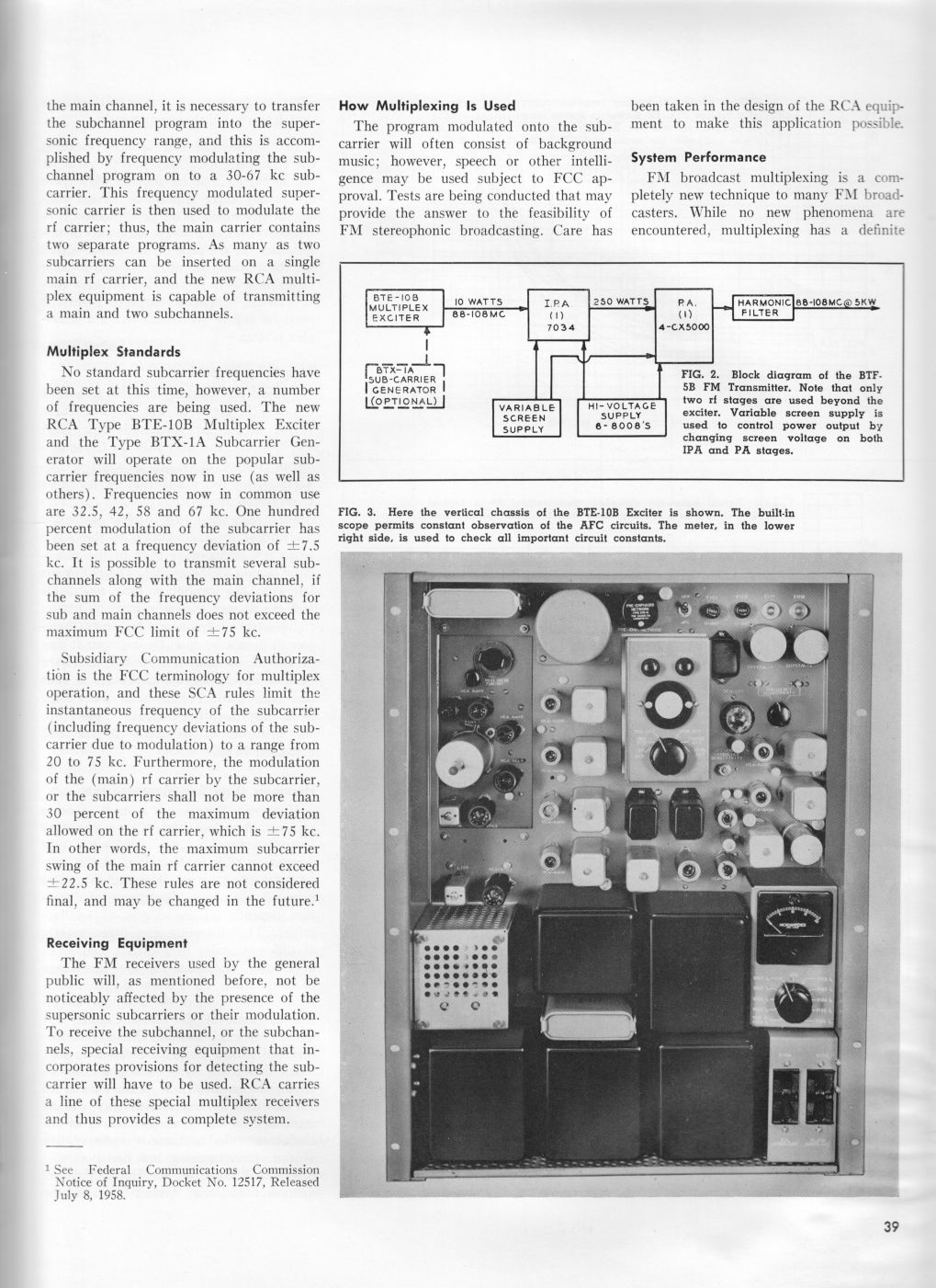 RCA BTE-10B Direct FM Exciter, page 2