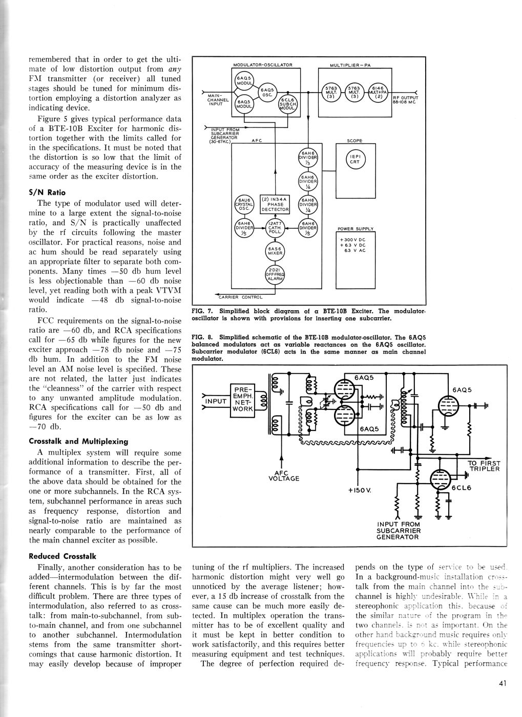 RCA BTE-10B Direct FM Exciter, page 4