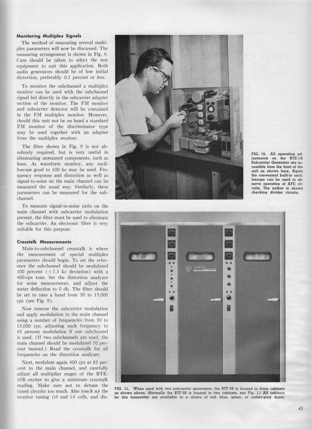 RCA BTE-10B Direct FM Exciter, page 6