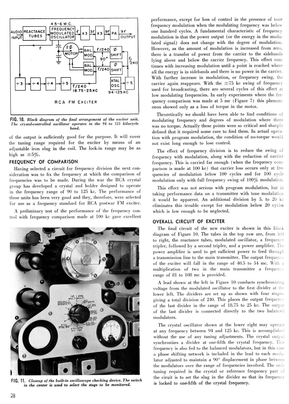 RCA MI-7015 Direct FM Exciter, page 5
